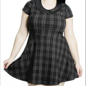 Killstar Darklands Tartan Doll Dress 4X NWOT